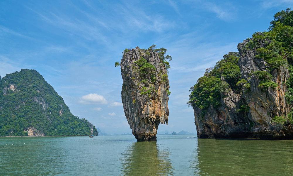 James Bond Island in Phang Nga Bay. Image:     Engin Akyurt