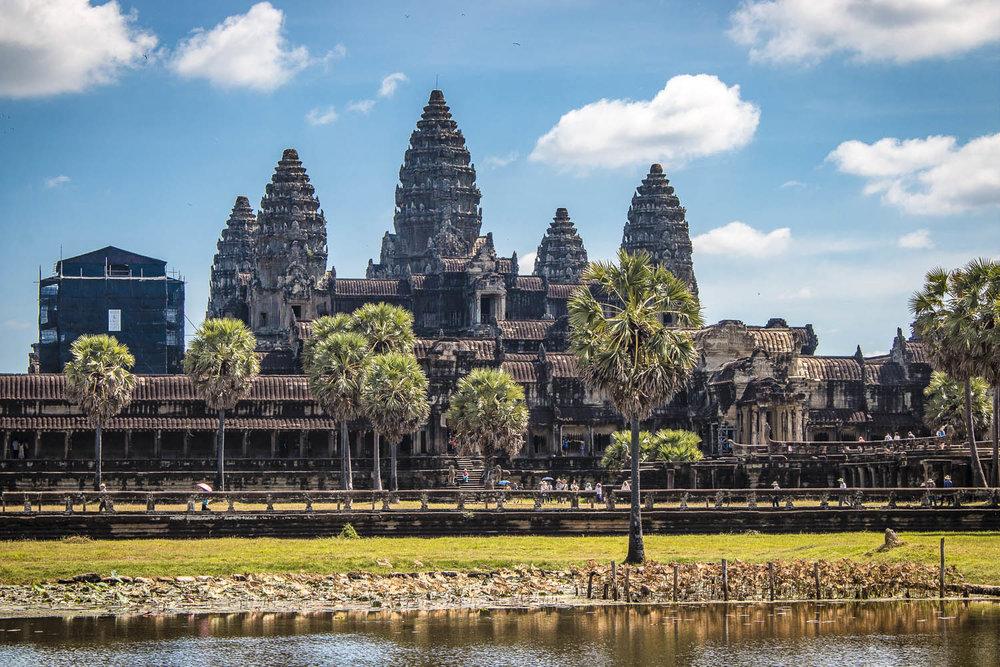Siem Reap is the gateway to Angkor Wat. Image:     Marcel Prueske