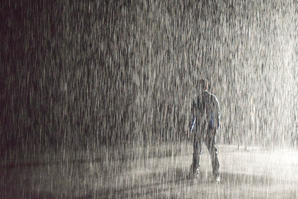 The Rain Room is now permanently in Sharjah. Image:  Ambica Gulati