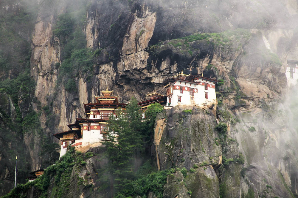 The Tiger's Nest was rebuilt after a fire in 1998. Image:  Danny Khan