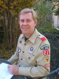 Scout Master, Rex Patterson