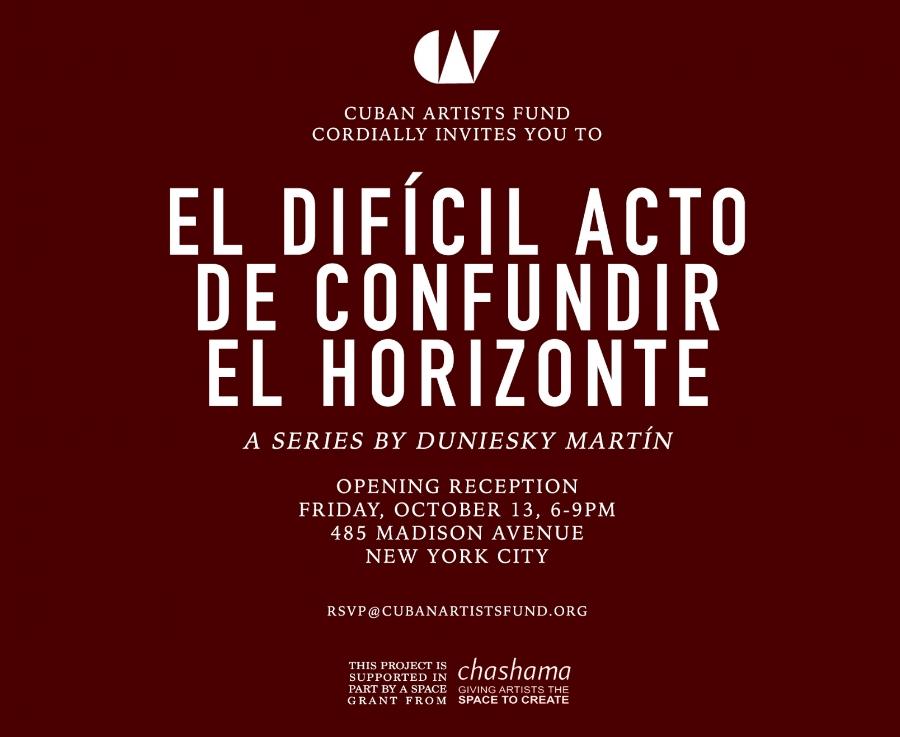 Opening Reception El Difcil Acto de Confundir el Horizonte by
