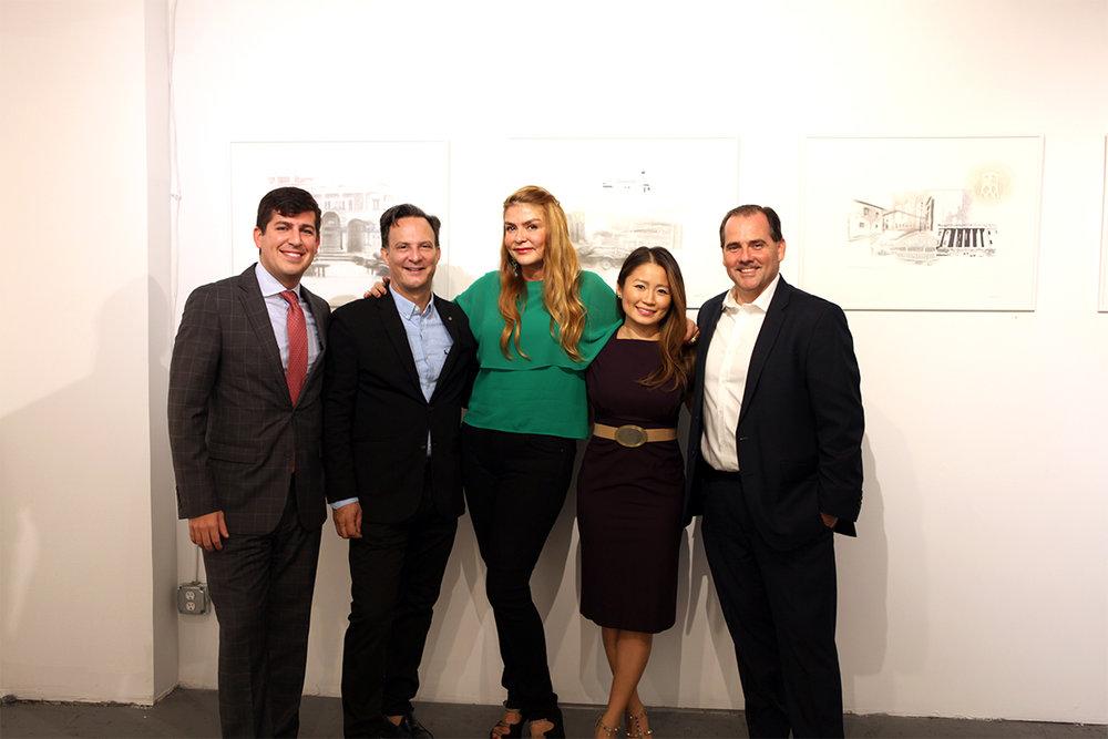 Kristian Sedeño, Ben Rodriguez-Cubeñas, Alexandra Seegers, Rachel Alonso-Mendoza, Carlos Pomares