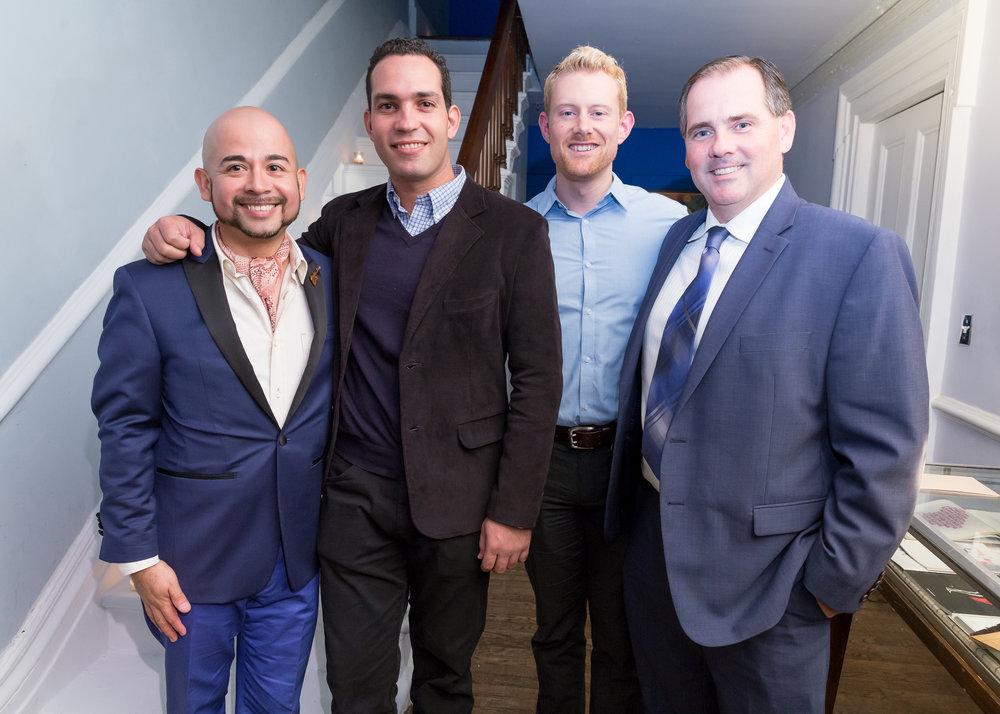 Gerard Segovia, Duniesky Martín, Michael Haayen, and Carlos Pomares