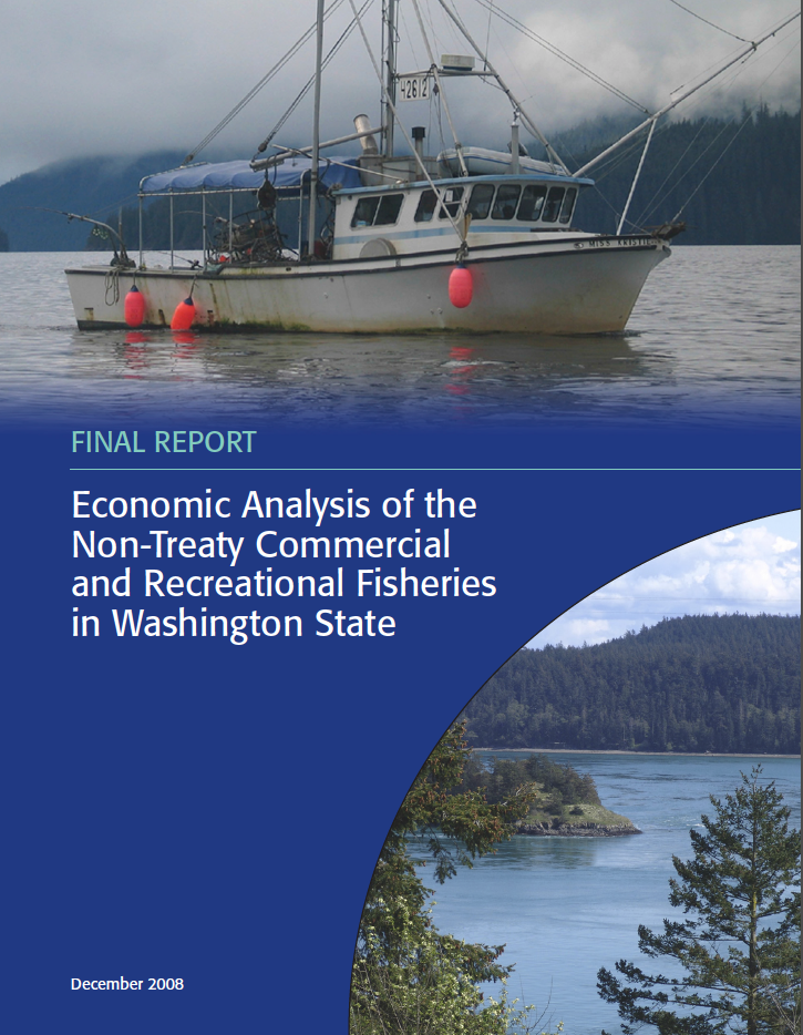 Economic Analysis of the Non-Treaty Commercial and Recreational Fisheries in Washington State