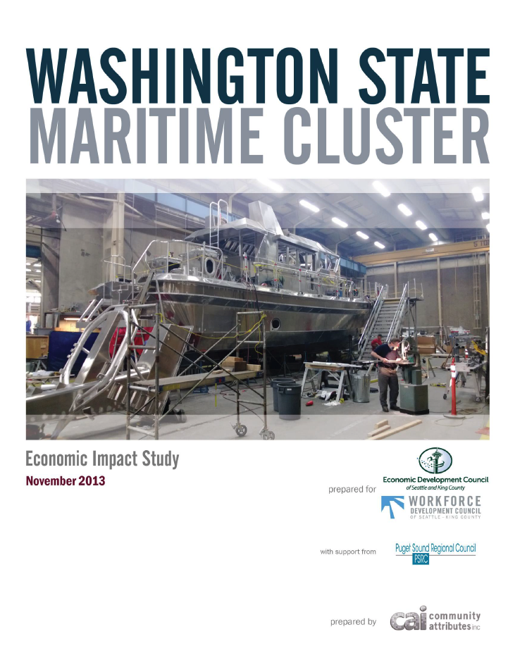 Washington State Maritime Cluster