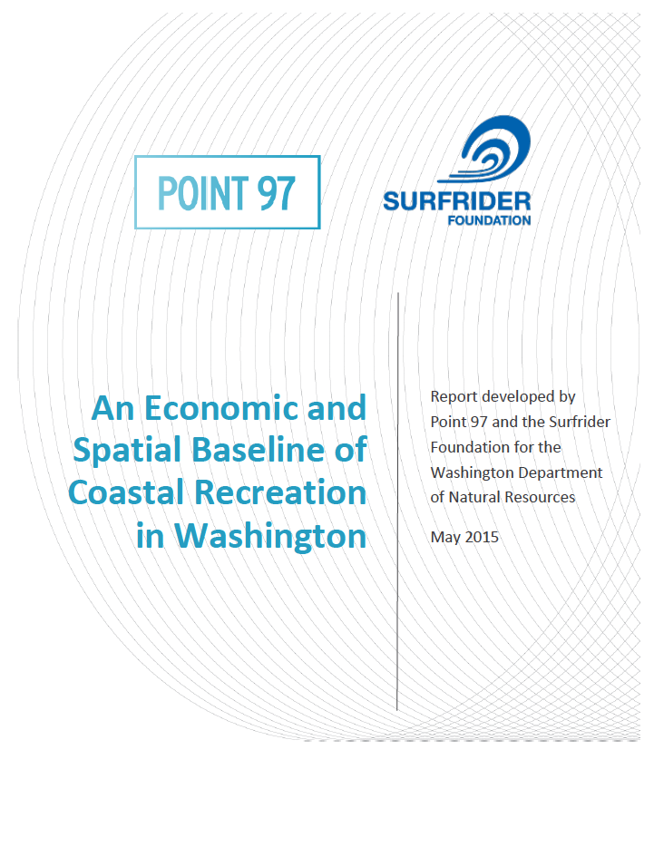 An Economic and Spatial Baseline of Coastal Recreation in Washington