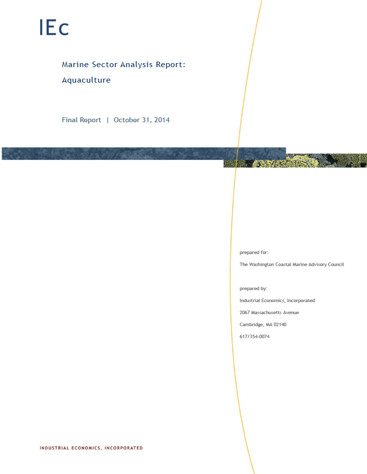 Marine Sector Analysis Report: Aquaculture