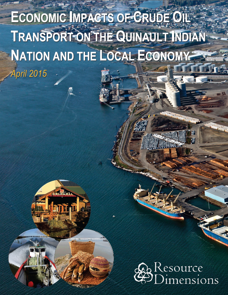Economic Impacts of Crude Oil Transport on the Quinault Indian Nation and the Local Economy