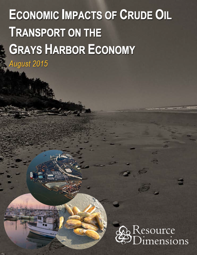 Economic Impacts of Crude Oil Transport on the Grays Harbor Economy