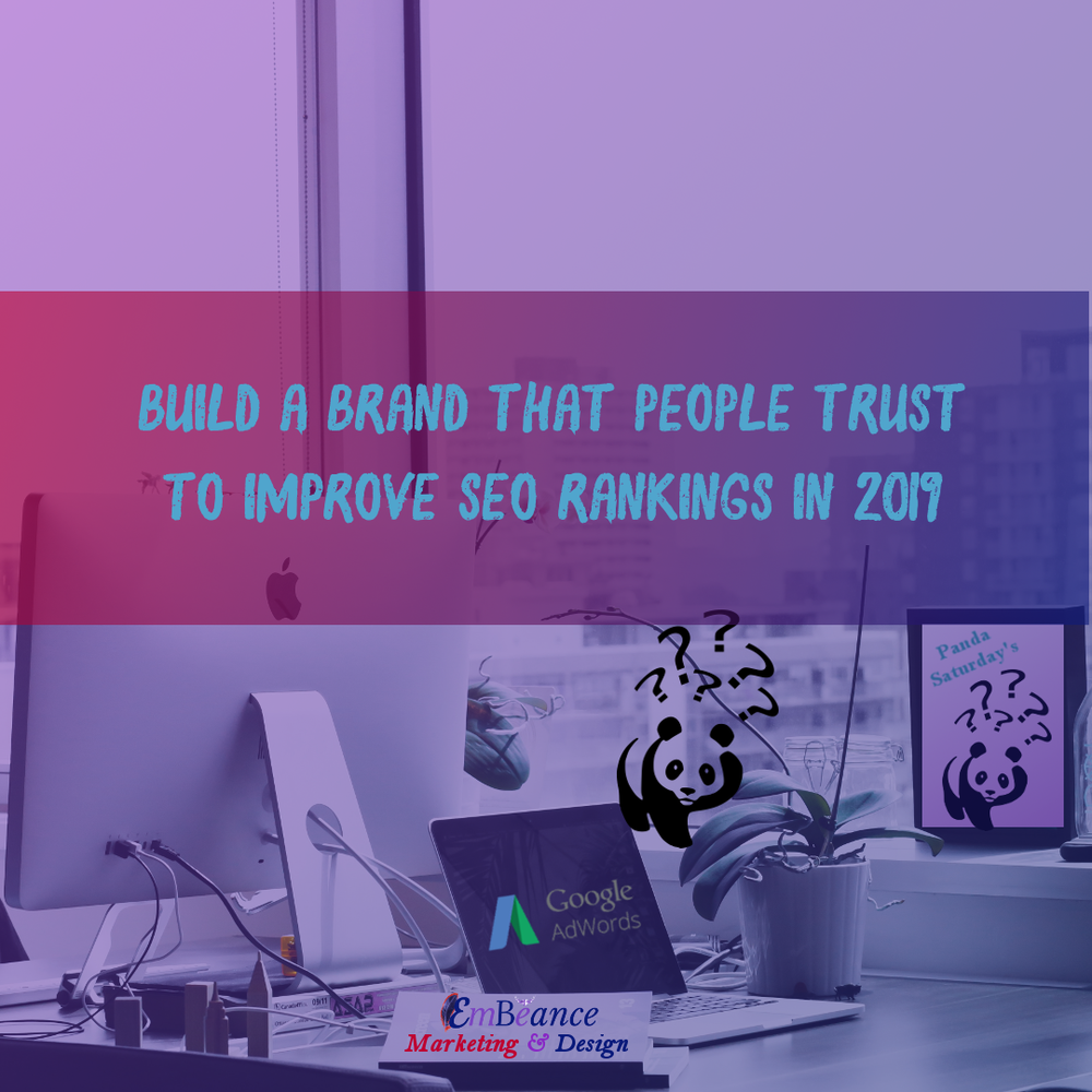 Social Media & SEO Work Hand In Hand. - Don't Discount The Power Of Social Media In 2019. Build A Brand That People Trust By Using Social Media To Improve Your SEO Rankings.
