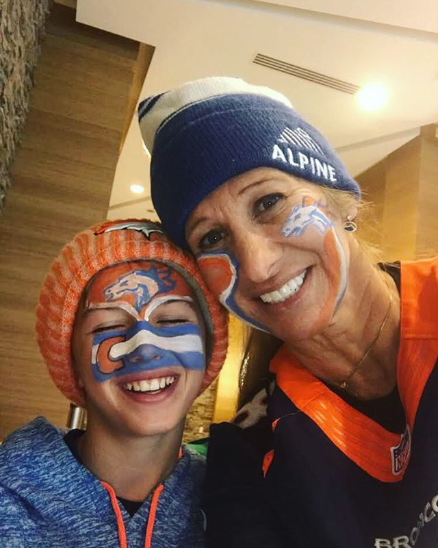 Such a fun weekend playing around Denver!! #gobroncos . . . . . #alpineorthopaedics #gunnison #crestedbutte #colorado #family #community #local