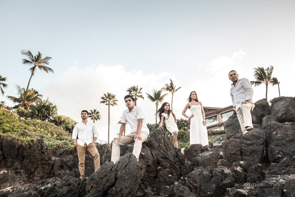 Four Seasons Maui Portrait Photography