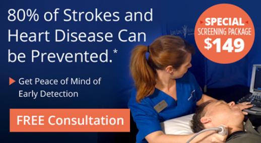 Save on Heart Disease & Stroke Screening