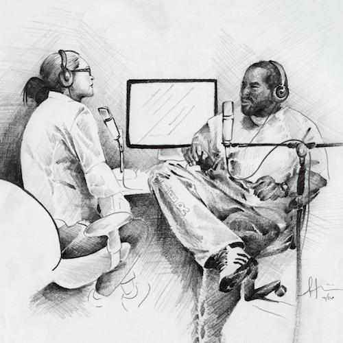 """""""Earlonne and Nigel on mic"""" by Antwan Williams"""