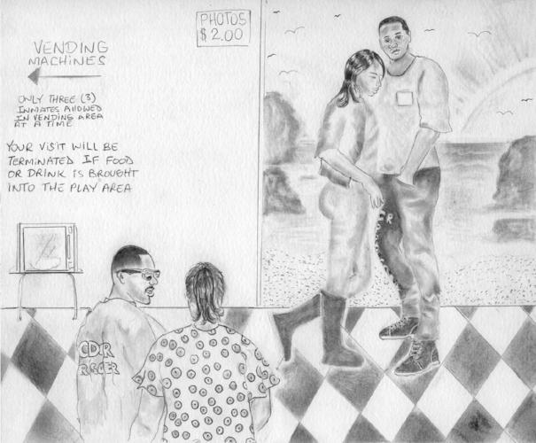 """""""Visiting Room""""by Earlonne Woods"""