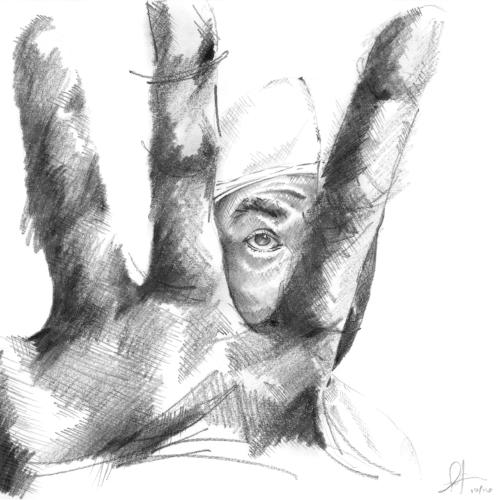 """""""Hand to the Door Grate"""" by Antwan Williams"""