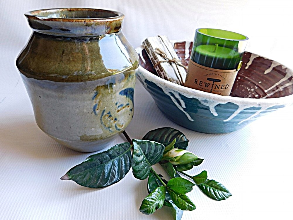 Handmade pottery - beautiful yet practical works of art -