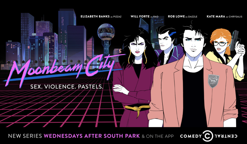 - MOONBEAM CITY, SEASON ONE TAGLINE:
