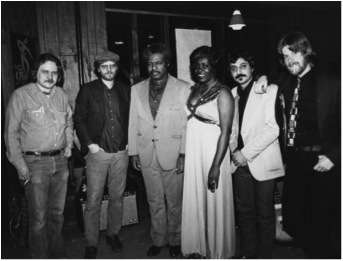 Jeanne Carroll & the Nite Owls in 1980,              one of first bands to perform at The Piano Man