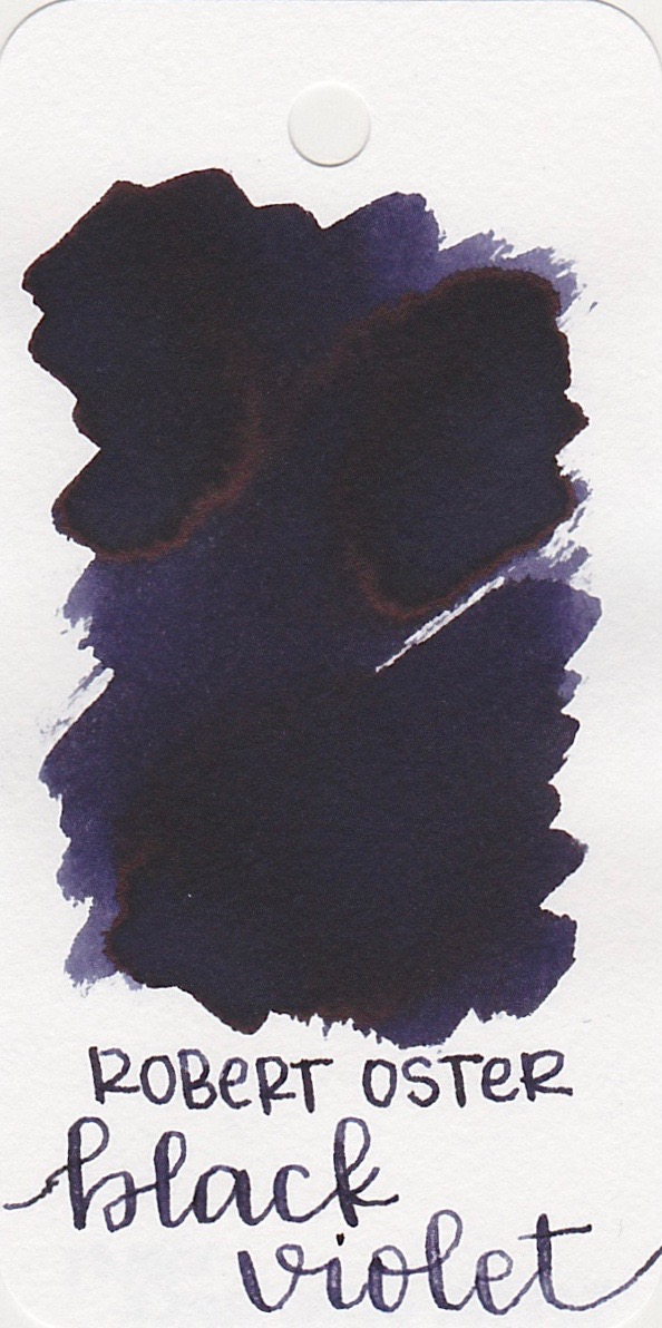 The color... - Black Violet is a really really dark violet purple, almost black, so the name is a great fit. Seasonally, I would probably use this ink in the fall.