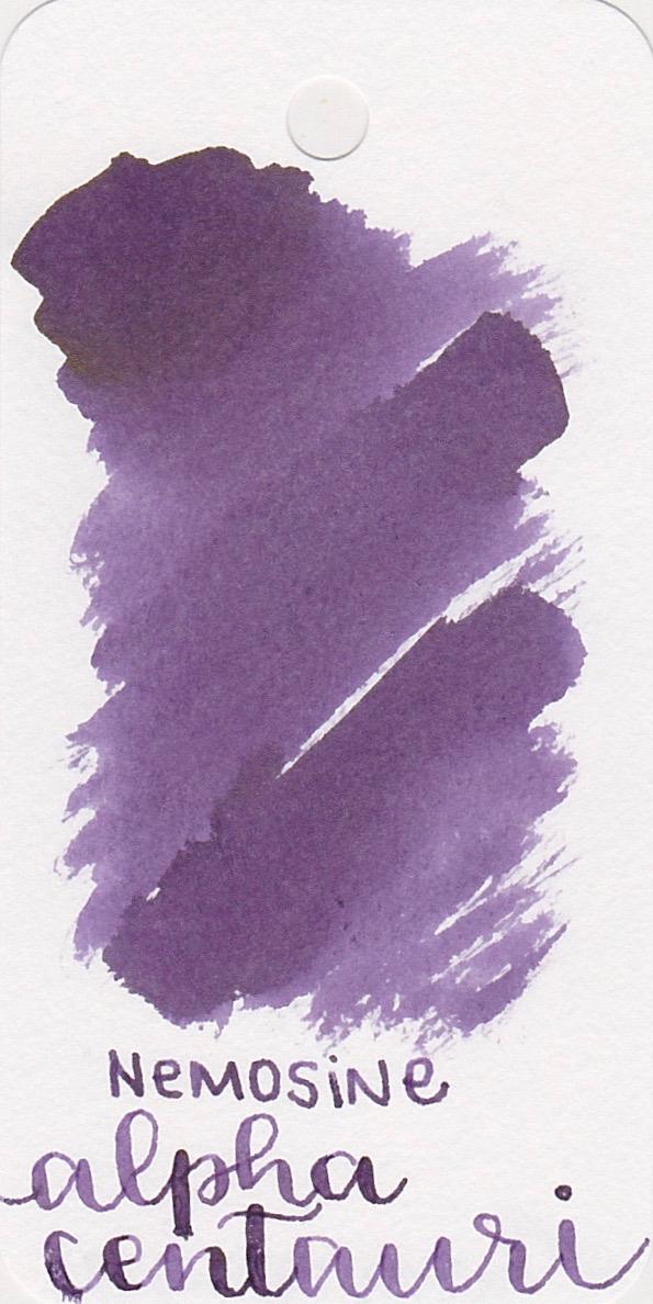 The color... - Alpha centauri is a medium purple.