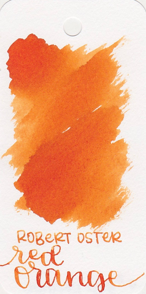 The color... - Red Orange is a bright orange with shading. Seasonally, I would use this ink in the fall.