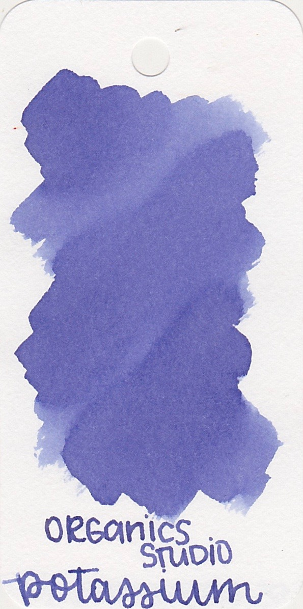 The color... - I'm gonna call this color almost a periwinkle. It's a purple with blue in it.