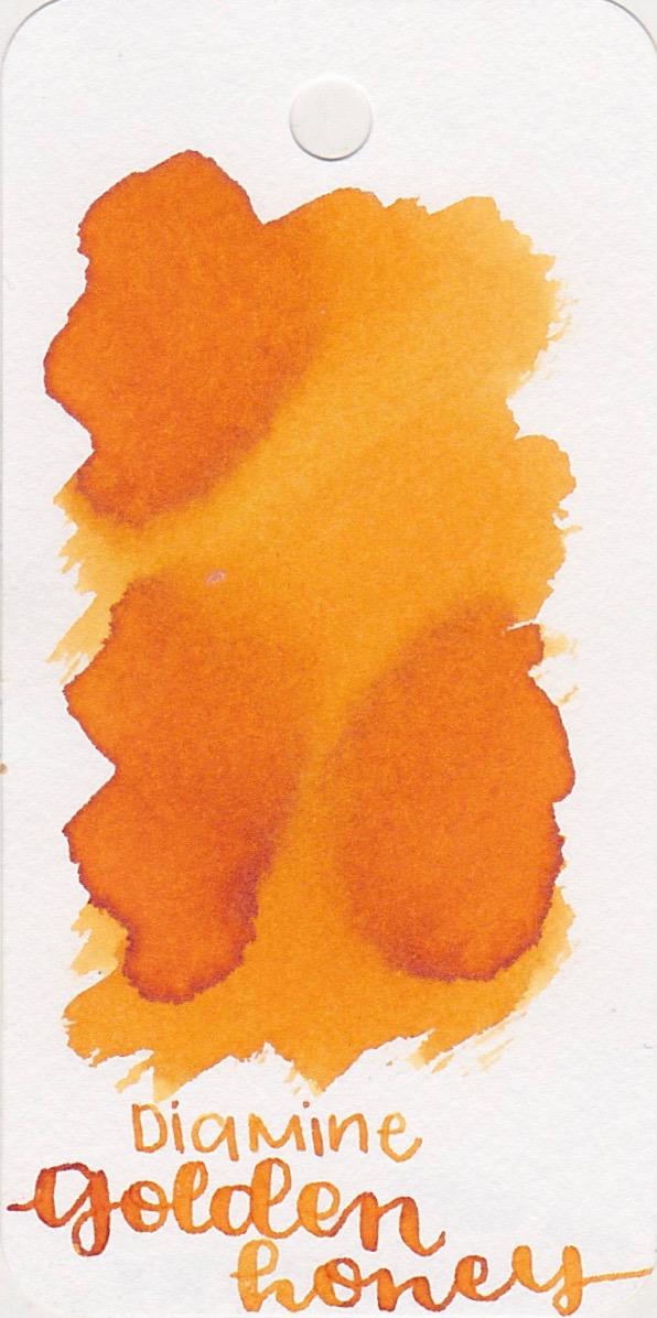 DiamineGolden Honey - I love this yellow-orange hue. It's so bright and happy.