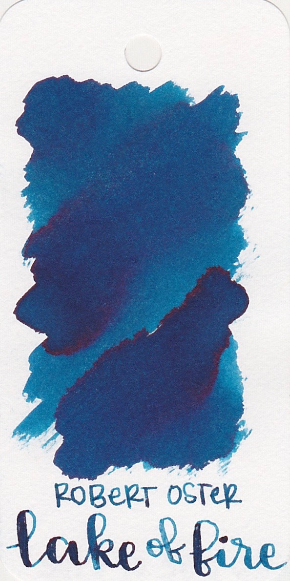 Robert Oster Lake of Fire - Lake of Fire is a nice dark blue with some great shading.
