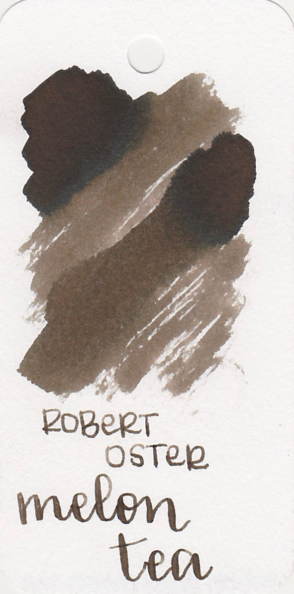 The color: - Melon Tea is a cool toned brown with shading. It almost looks bronze to me.