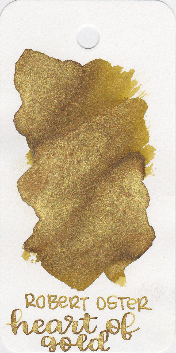 The color: - Heart of Gold is a bright gold with tons of gold shimmer. Seasonally, I consider most metallics to be neutrals, and as such, I use them year-round.