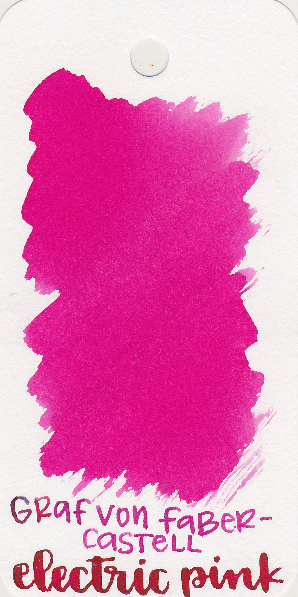 The color: - Electric Pink is a bright medium pink.