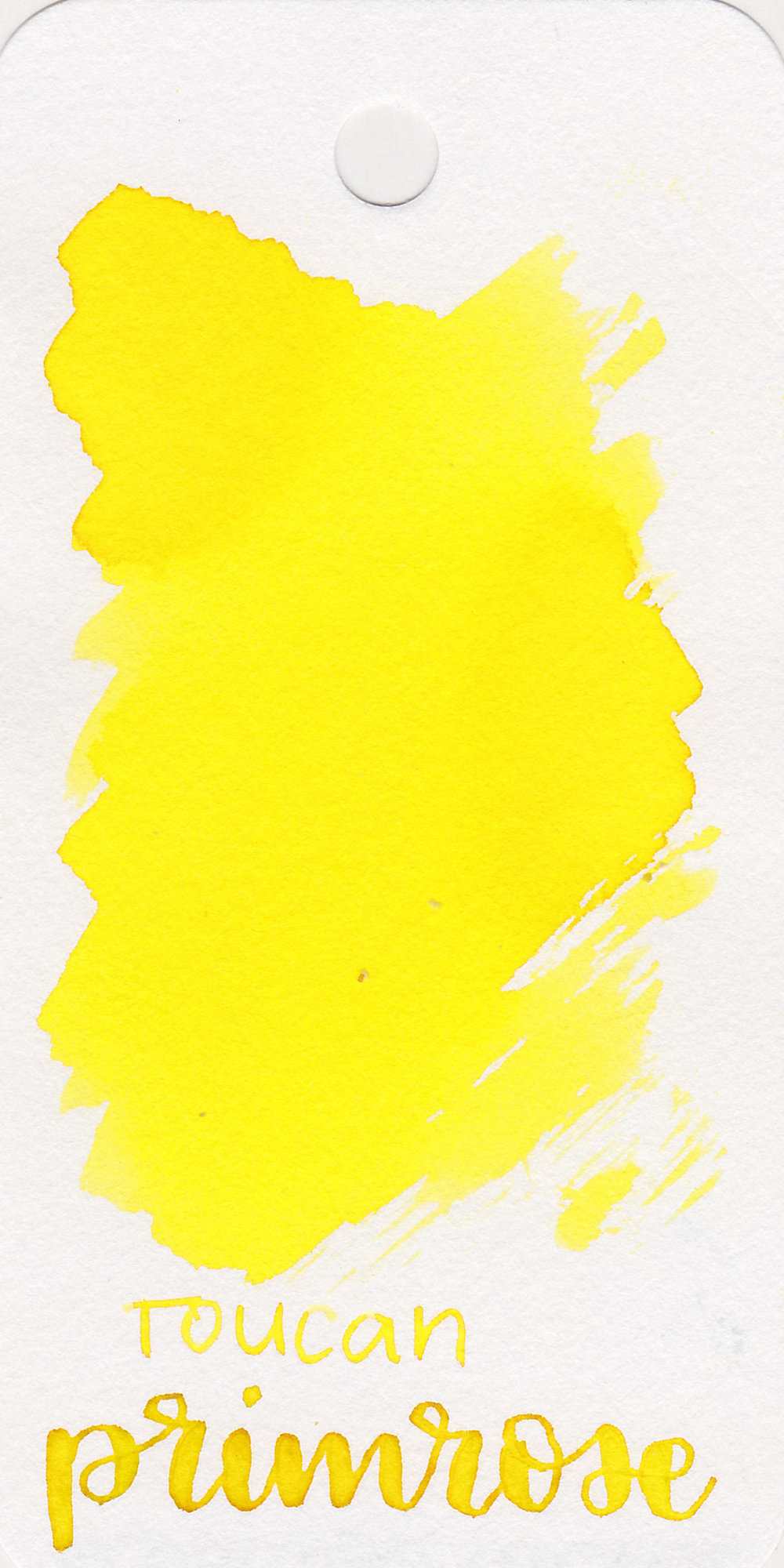 The color: - Primrose is a very light bright yellow.