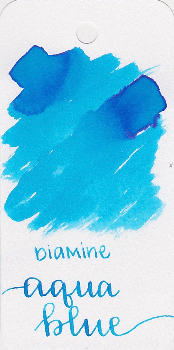 DiamineAqua Blue - A lovely light blue with good flow.