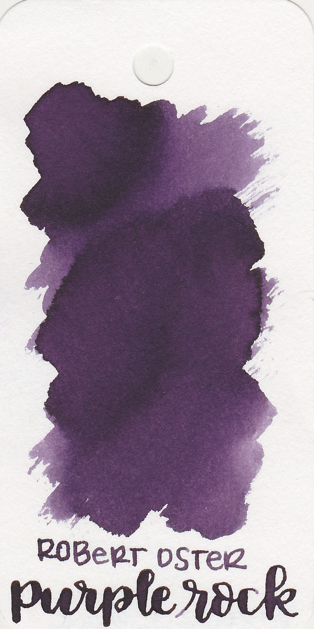 The color: - Purple Rock is one of those inks that looks a little bit different on every paper. On the Col-o-ring it looks more medium purple.