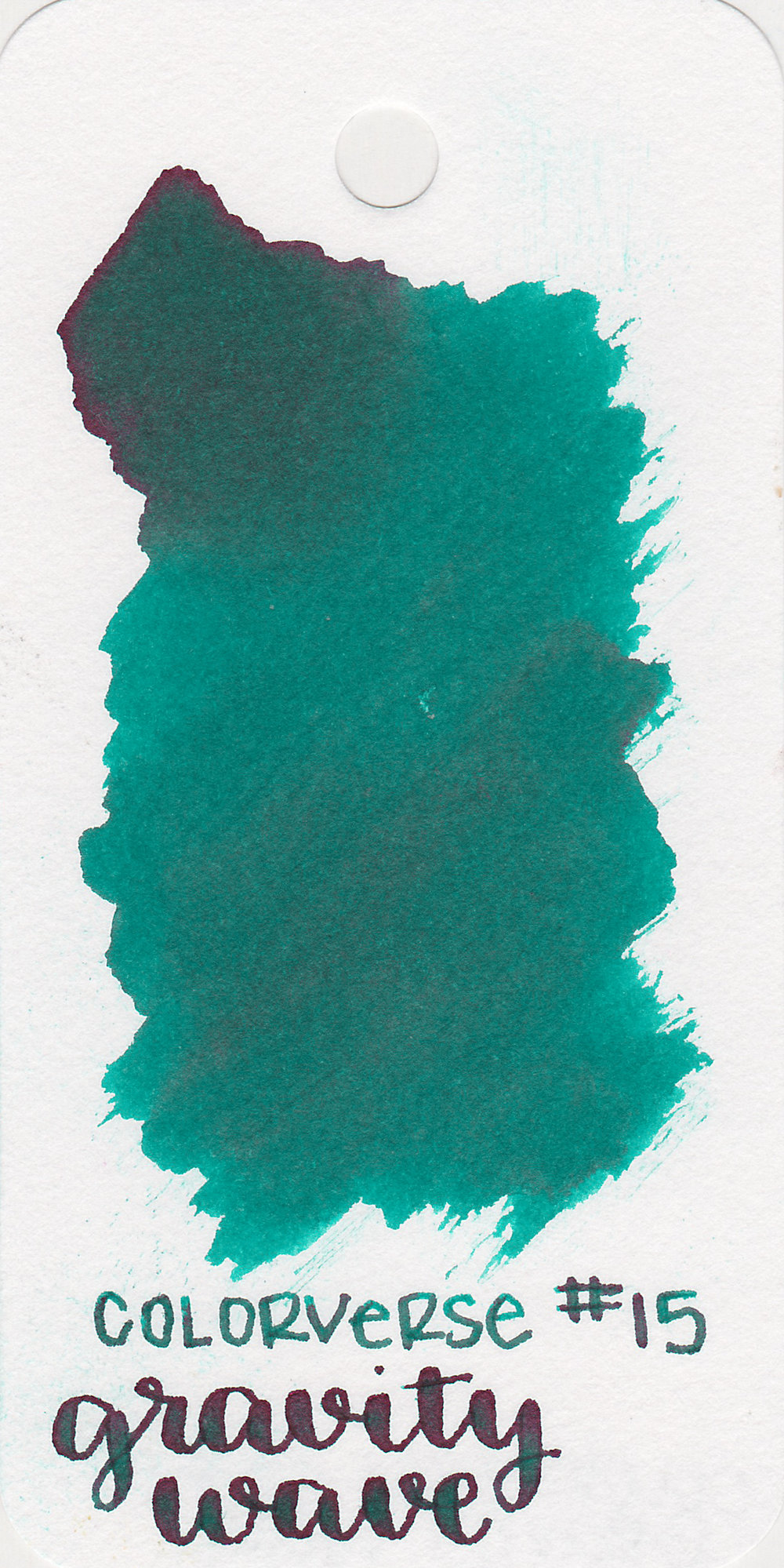 The color: - Gravity Wave is a gorgeous medium teal.