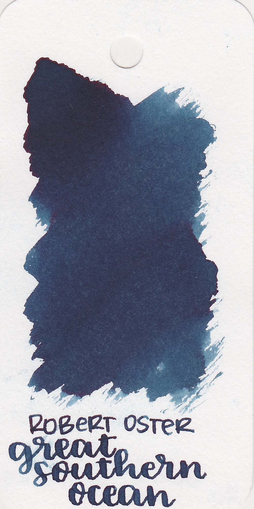 The color: - Great Southern Ocean is a beautiful dark blue. Robert Oster does a great job with his blues.