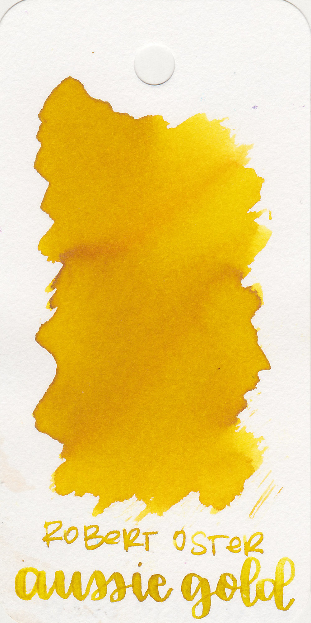 The color: - Aussie Gold is a dark yellow, it reminds me of 70's yellow.