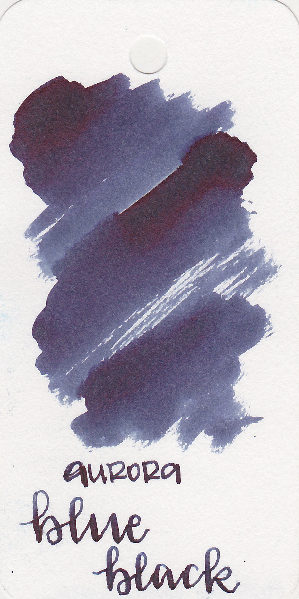 The color: - Blue Black is a lovely medium blue black. To me, this is a true blue-black color.