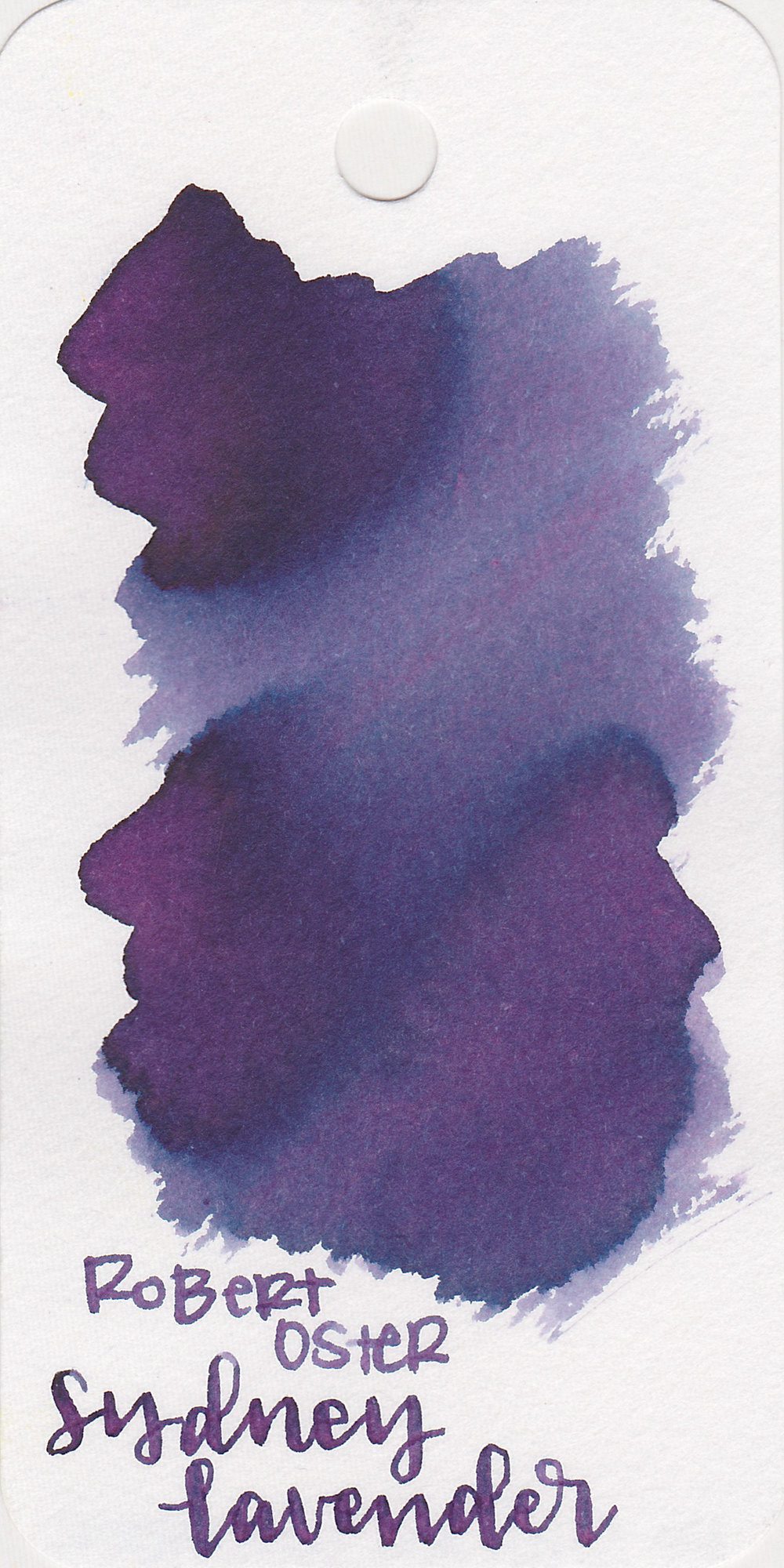 The color: - Sydney Lavender is a dark purple with a very heavy blue undertone.