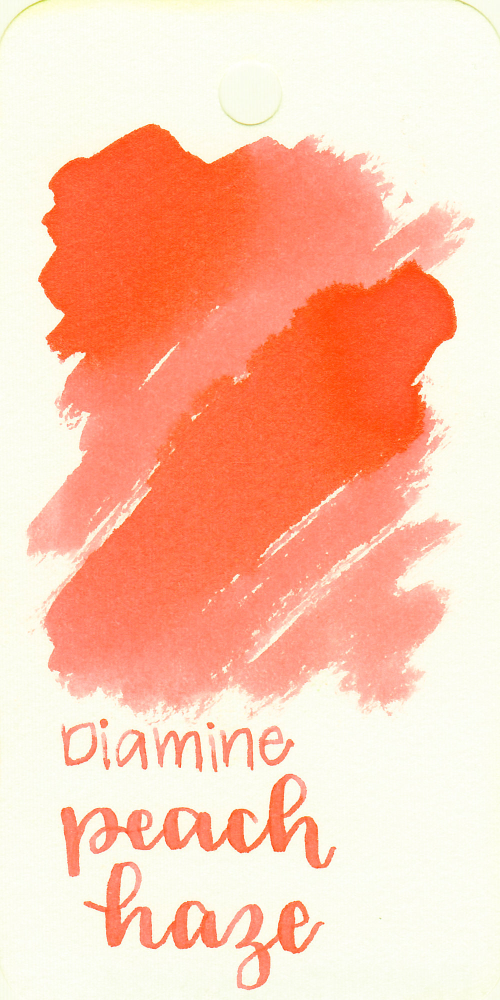 The color: - Peach Haze is a beautiful coral orange with a heavy pink undertone.
