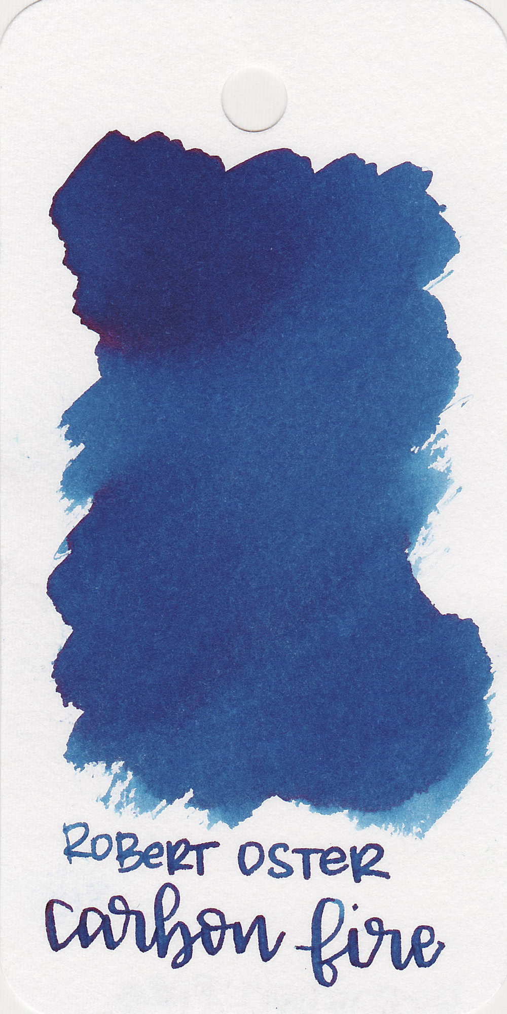 RO Carbon Fire - This ink is a recent release, but you can't go wrong with any of Robert Oster's blues.