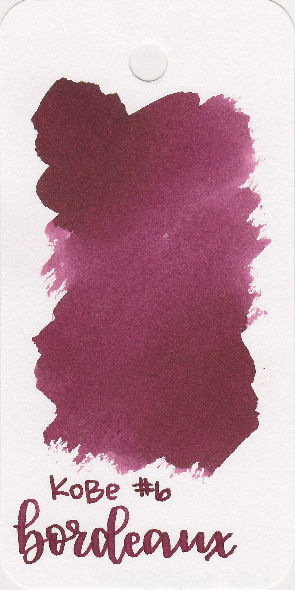 The color: - Bordeaux is, well, a bordeaux red. It has a bit more purple than a maroon, but isn't quite purple.