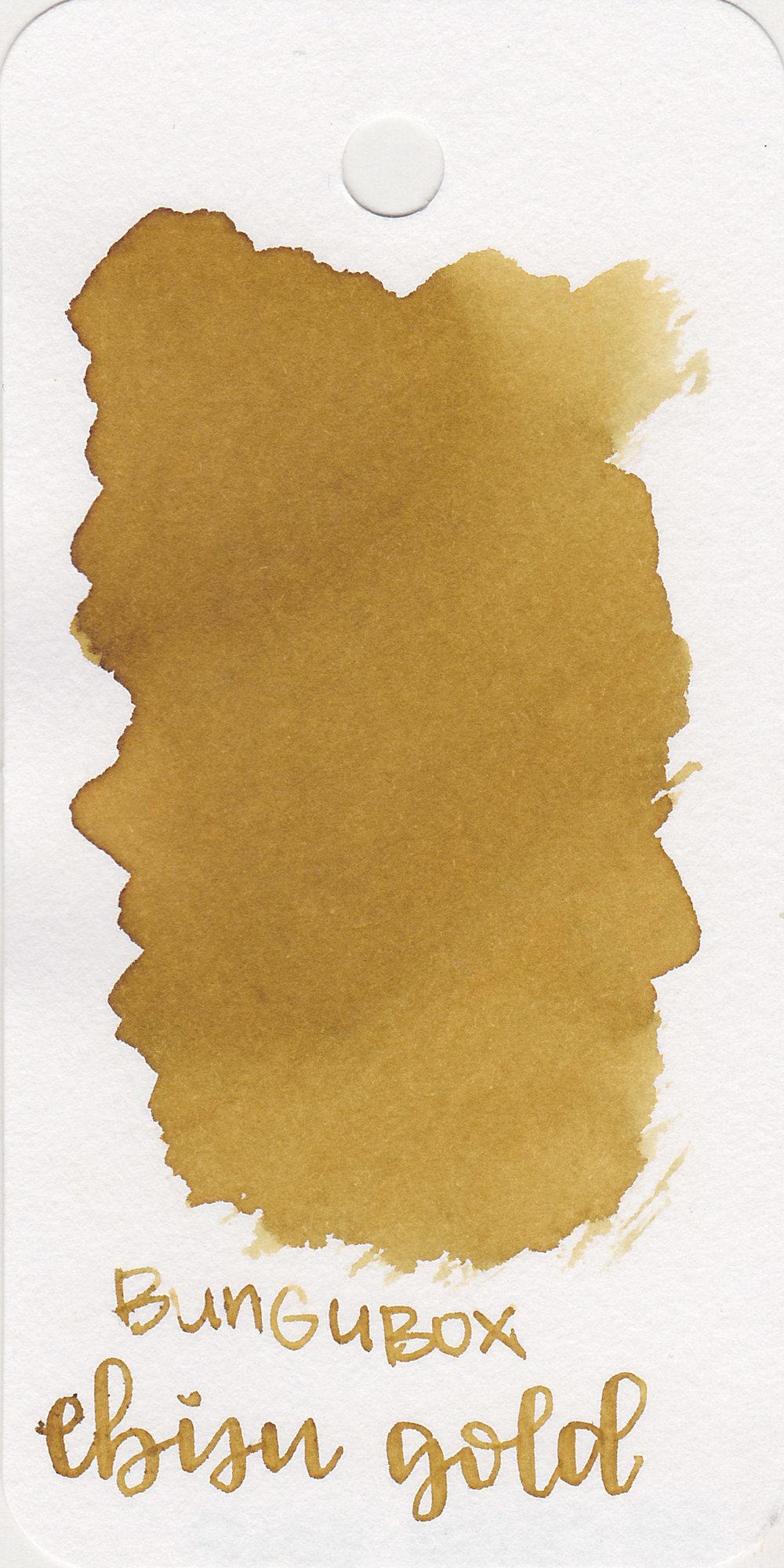The color: - Ebisu Gold is a cool-tone dark yellow.