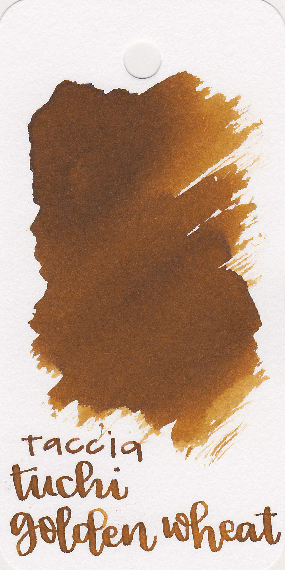The color: - Tsuchi Golden Wheat is a gorgeous medium golden brown.