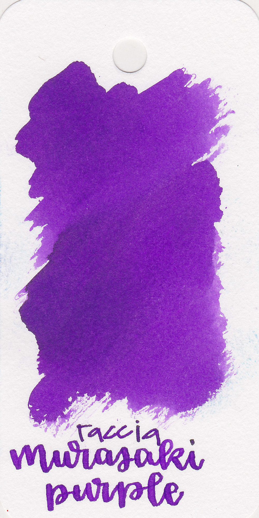 The color: - Murasaki Purple is a beautiful medium purple. This color actually reminds me of Barney. It's Barney purple.