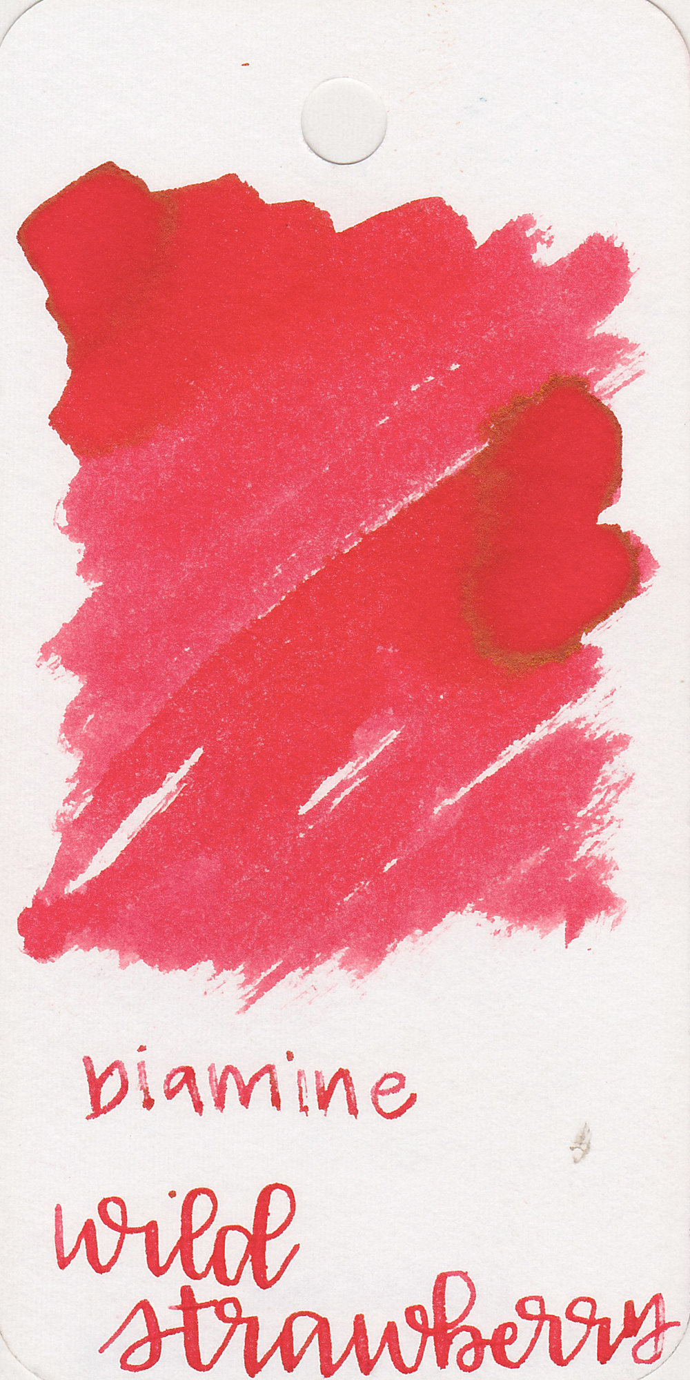The color: - Wild Strawberry is a light, bright red. I wouldn't say it's a strawberry red since this is much brighter and pinker than strawberries, but it's a pretty summer red.