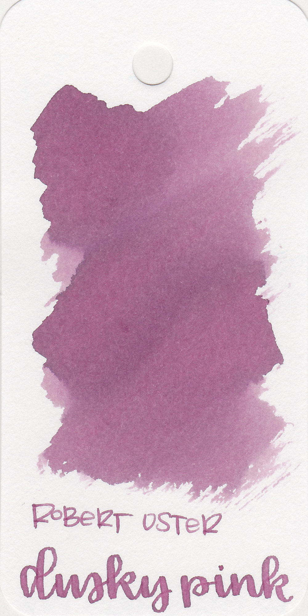 The color: - Dusky Pink is just that-a dusky pink, almost a purple.