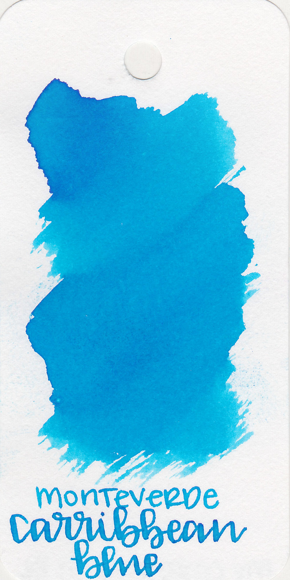 The color: - Caribbean Blue is a beautiful bright, light blue. I would call it a sky blue.